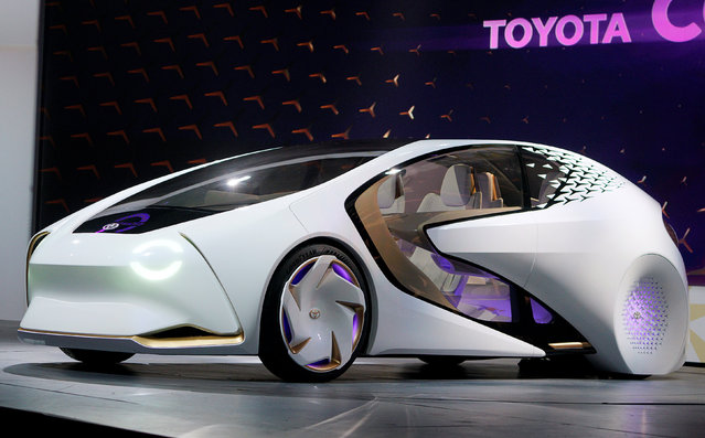 Футуристичний Toyota Concept-i показали на виставці електроніки CES 2017
