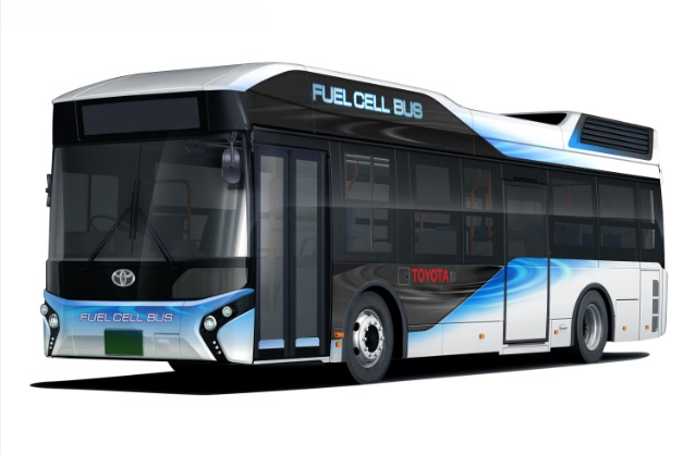 Водневі автобуси Toyota можуть служити електрогенераторами