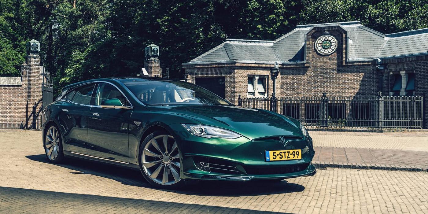 У Нідерландах випустили електричний універсал на базі Tesla