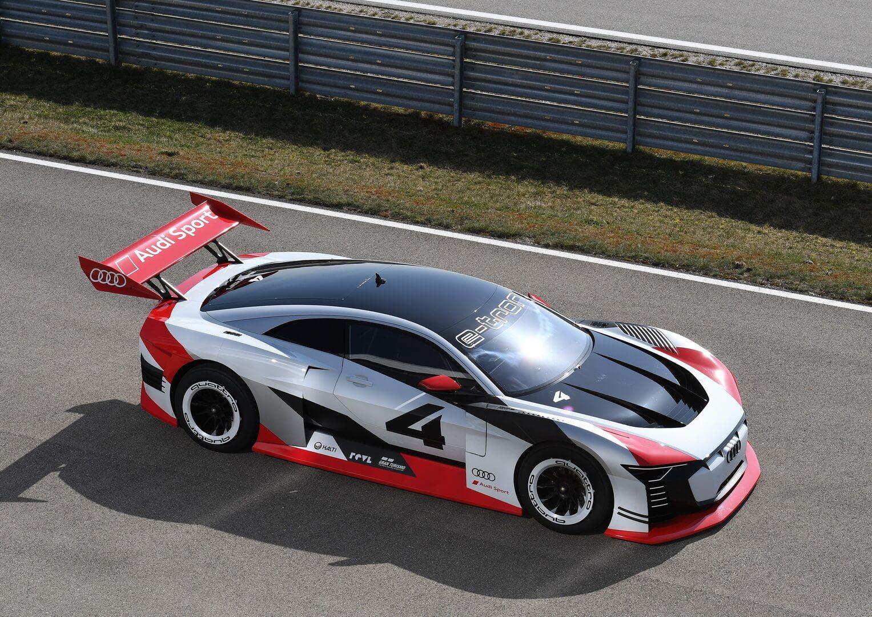 Audi e-tron Vision Gran Turismo  - один з найшвидших електромобілів показали на відео