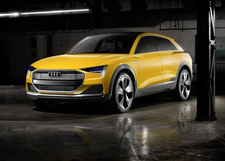 Audi h-tron quattro  - водневий автомобіль, що заправлятиметься за 4 хвилини