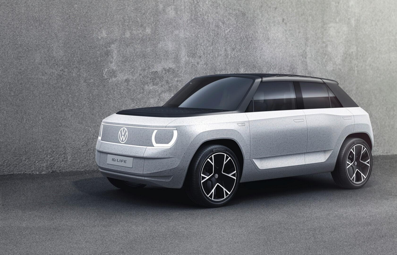 Концепція VW ID.Life за 20 000 євро на основі скороченої  платформи MEB