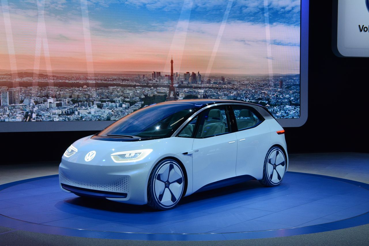 Концепт Volkswagen I.D. - прообраз серійного електромобіля