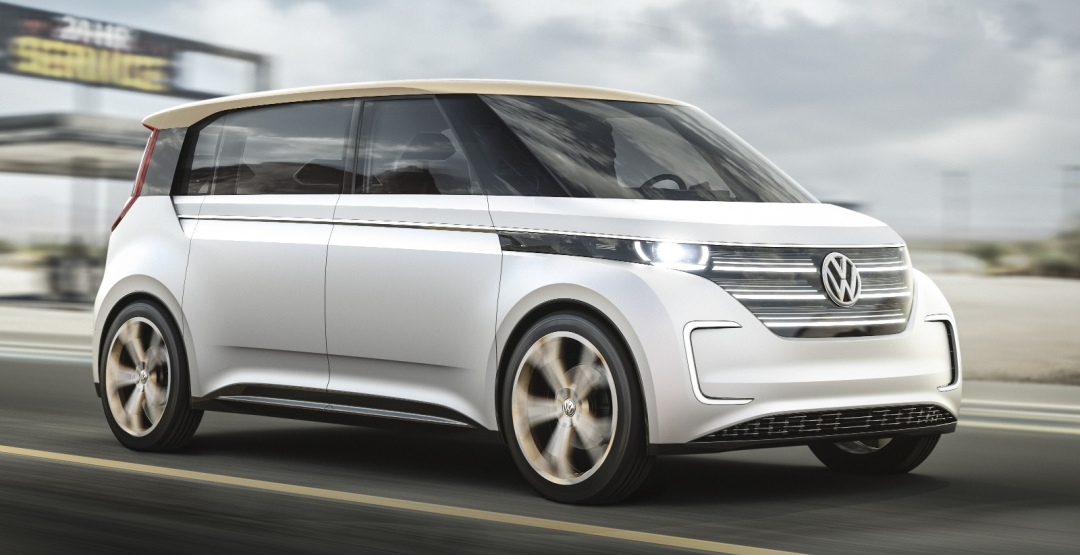 В Лас-Вегасі представили електричний мікроавтобус Volkswagen Budd-e concept