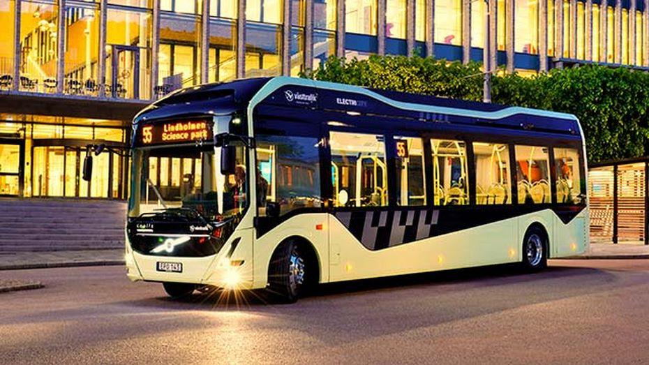 Volvo 7900 Electric - повністю електричний автобус