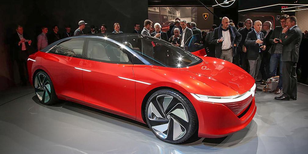 У Женеві представлений електромобіль Volkswagen ID Vizzion
