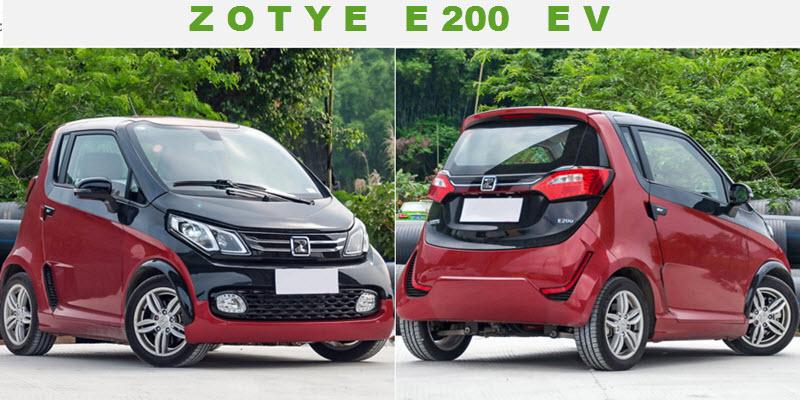 Електро-сітікар Zotye E200